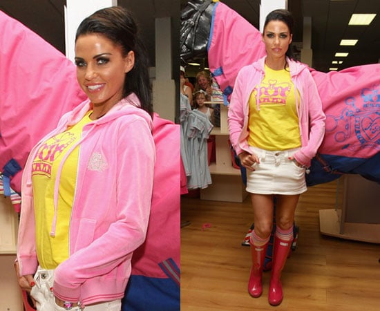 Pictures of Katie Price at Horse Show