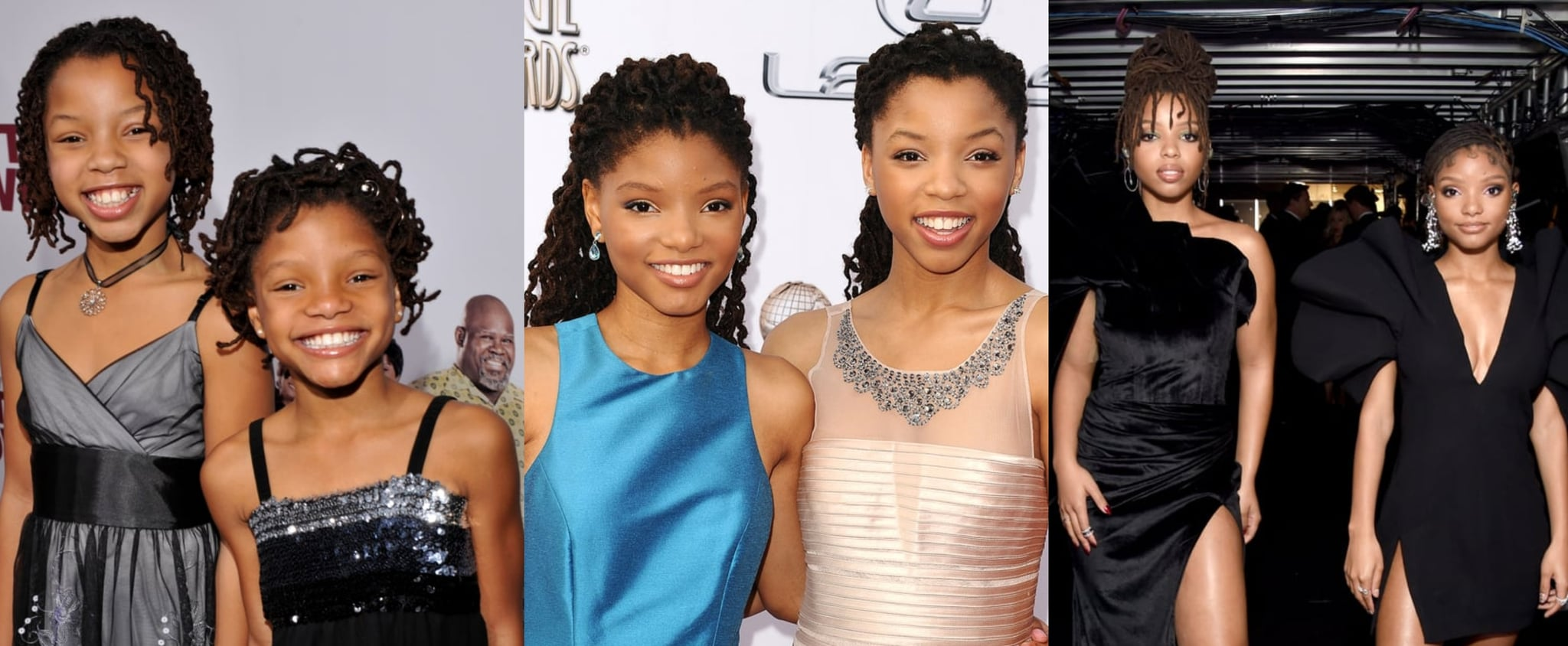 Chloe and Halle Bailey's Fashion Evolution