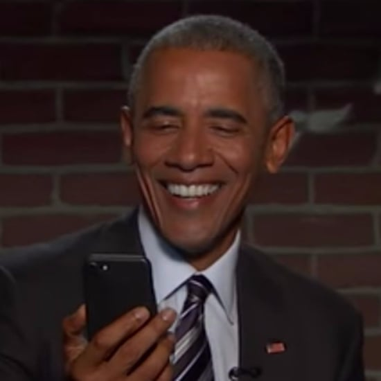 Barack Obama in Celebrities Read Mean Tweets October 2016
