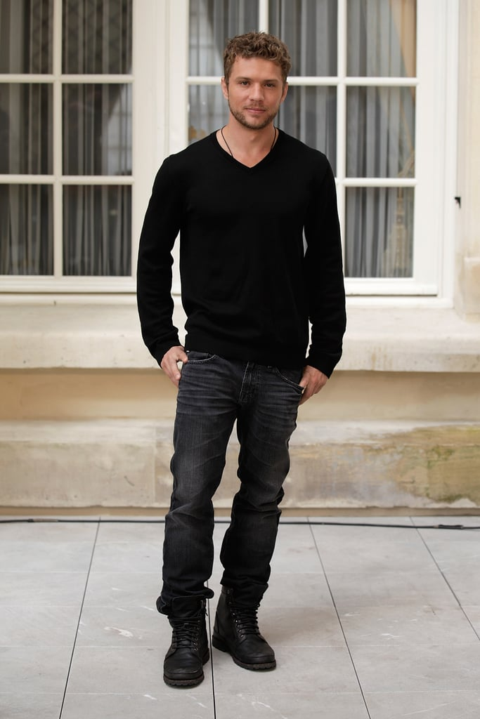Pictures of Matthew McConaughey and Ryan Phillippe at The Lincoln Lawyer Photocall in Paris