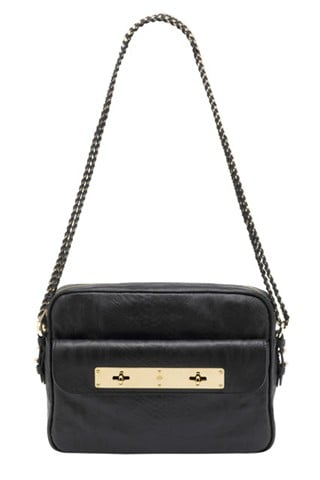 Carter Camera Bag in Black Snake Embossed Leather, $1,400