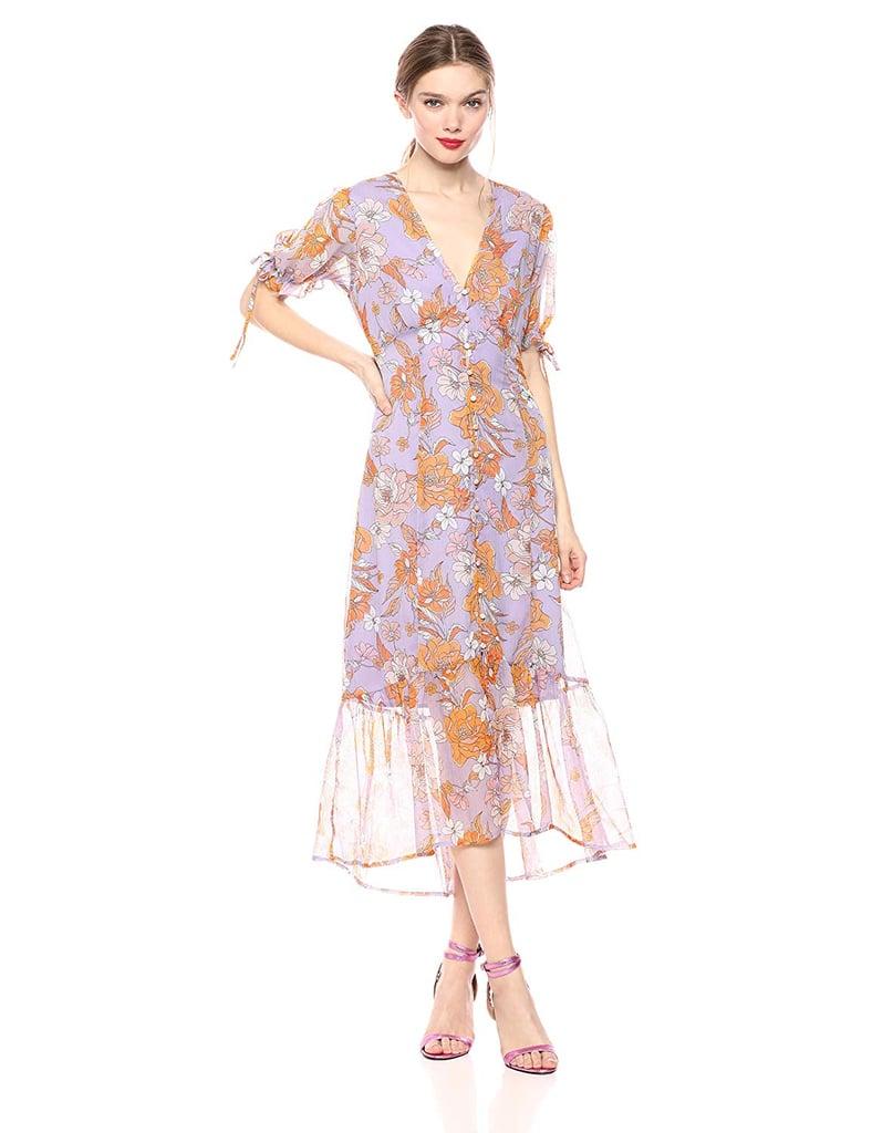 51baa57e78 ASTR the Label Chandler Short Sleeve Floral Maxi Dress | Best ...