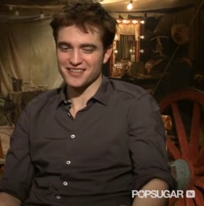 Video Interview With Robert Pattinson on Breaking Dawn, Water for Elephants, Reese Witherspoon, Romance 2011-04-03 16:40:00
