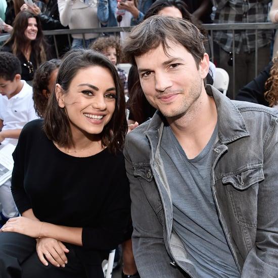 Mila Kunis and Ashton Kutcher on Their Super Bowl Commercial