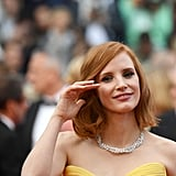 Jessica Chastain's Giorgio Armani Gown Had the Sweetest Heart-Shaped Neckline