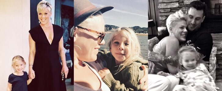 Pink's Family Pictures on Social Media