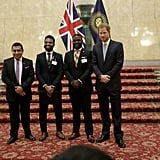 Prince Harry at Commonwealth Youth Roundtable January 2019