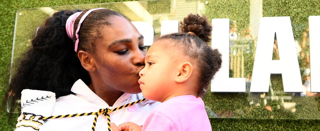 Watch Serena Williams's Daughter Olympia Do Mom's Makeup