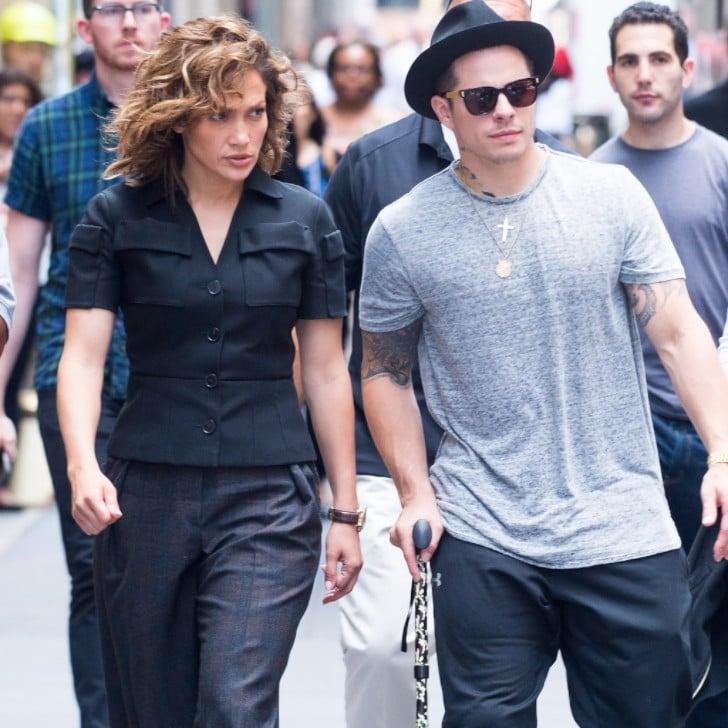 casper smart and jennifer lopez. Jennifer Lopez And Casper Smart In New York City July 2016 | POPSUGAR Latina