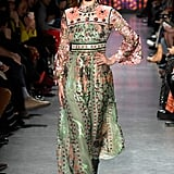 Bella Wore This Mint, High-Neck Dress at Anna Sui Too