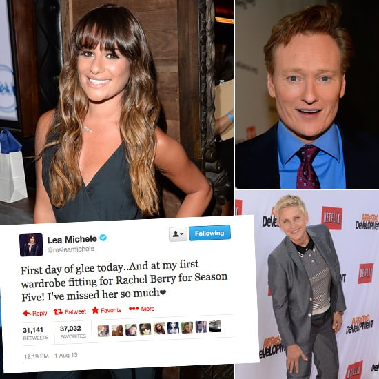 Best Celebrity Tweets Of The Week: Lea Michele, Ellen, Conan
