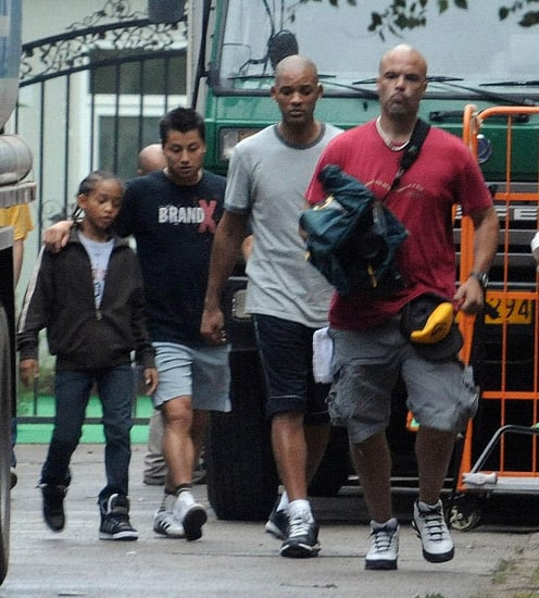 Jaden Smith(will Smith's son)filming in China