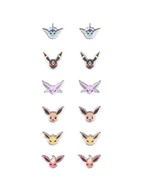 Pokémon Evee Evolution Earrings Set ($11)