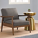 Better Homes & Gardens Flynn Mid-Century Chair Wood