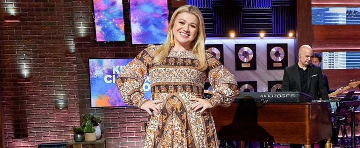 Kelly Clarkson Discusses Show, Vegas Residency, and New Song