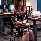 Judy's Black Floral Dress on Dead to Me