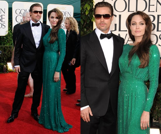 Angelina Jolie at 2011 Golden Globe Awards
