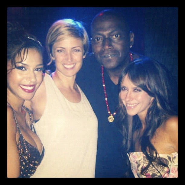 Randy Jackson took in a burlesque show with Jennifer Love Hewitt. Source: Instagram user yo_randyjackson