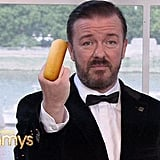 """You can suck my Twinkie."" — Ricky Gervais in a slightly edited bit."