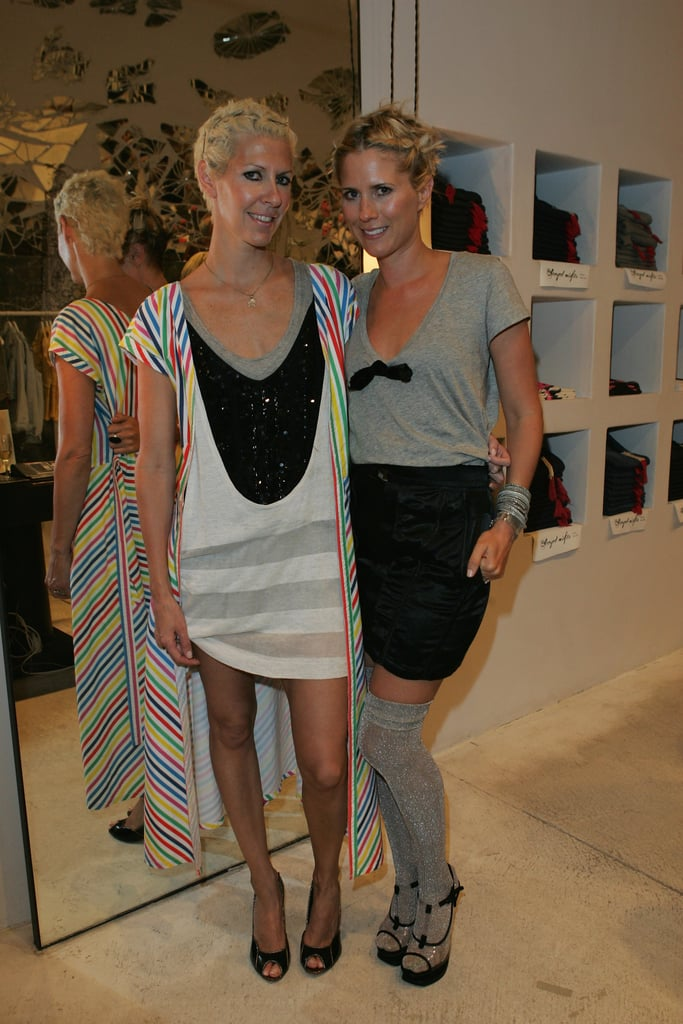 Sarah-Jane Clarke and Heidi Middleton at the Sass and Bide Collection Preview