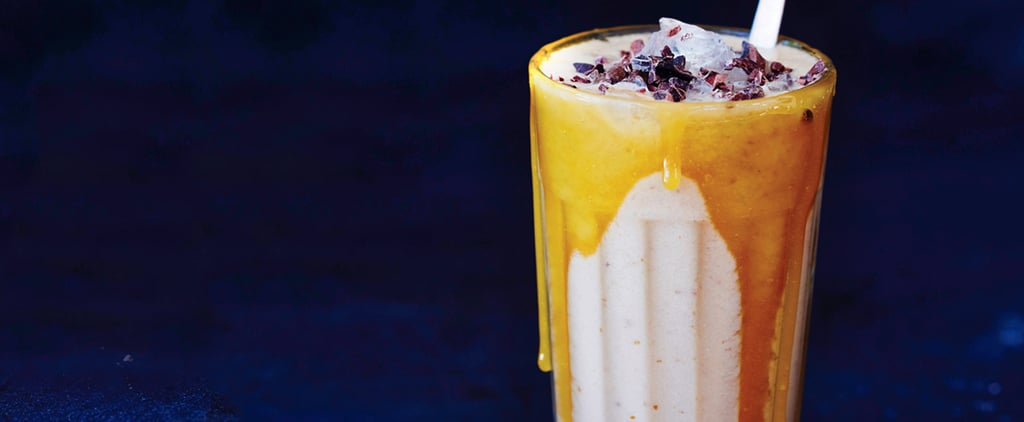 The Perfect Post-Workout Treat: Salted Caramel Protein Smoothie