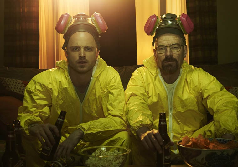 Walt and Jesse From Breaking Bad