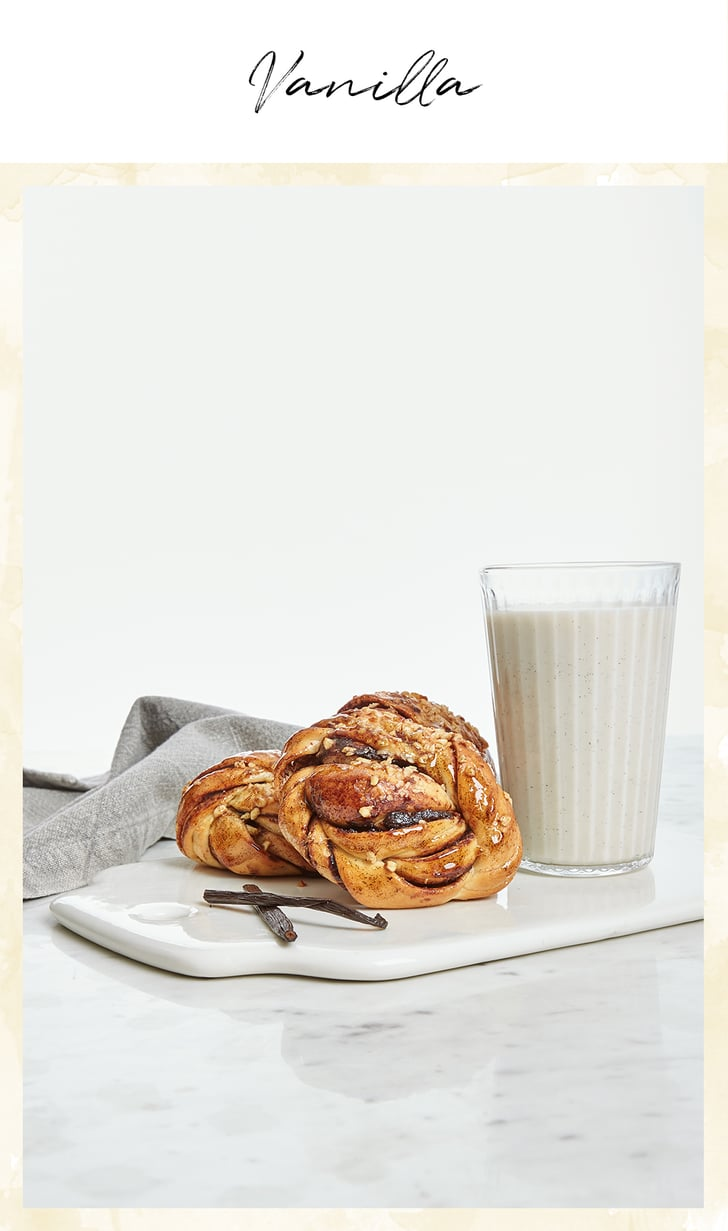 Who can resist the delicious scent of vanilla wafting from a freshly baked pastry? As well as having a lovely scent, vanilla is rich in antioxidants, and it's active ingredient (vanillin) can reduce cholesterol levels. Inspired by this delicious and surprising ingredient, the  AVEENO® Daily Moisturising Yogurt Body Wash — Vanilla & Oat Scented (£7.89) is a calorie-free dose of morning sweetness.