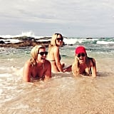 Lauren Conrad spent much of her bachelorette weekend in Cabo San Lucas, Mexico, in a bikini with girlfriends, including Lo Bosworth.