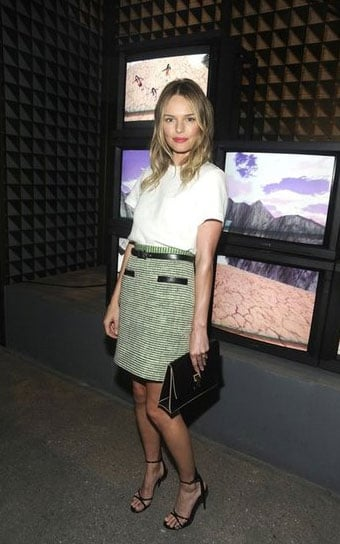 Kate Bosworth + Proenza Schouler everything = pretty outfit perfection.