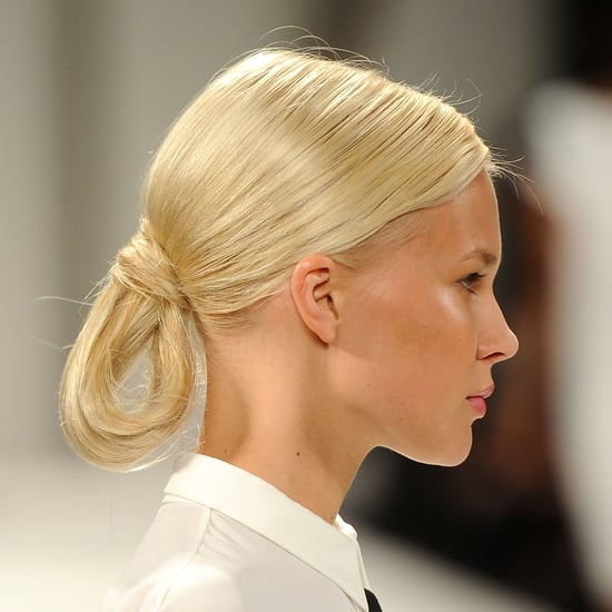 Carolina Herrera Spring 2012: Backstage Hair by Orlando Pita