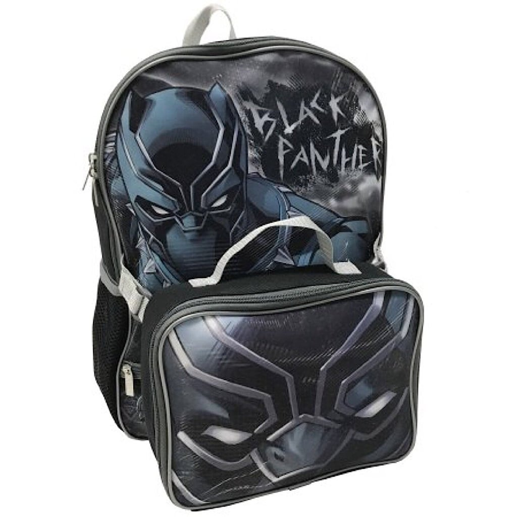 Marvel Avengers Black Panther Backpack & Lunch Bag Set