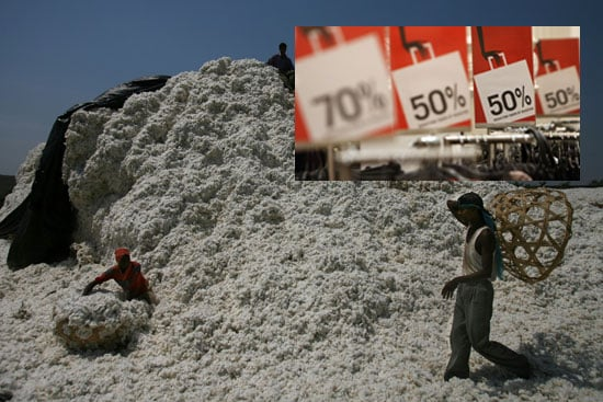 Want Cheap Clothes? The Cotton Industry's Not 100% Fit