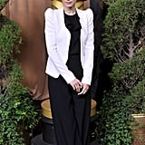 Rooney Mara attended the Oscars Nominees Luncheon during February.