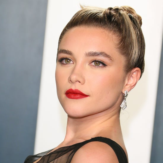 Florence Pugh Dyed Her Ends a Pastel Pink Hair Color