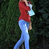 Diane Kruger went to an appointment.