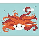 Snarls and tangles have rarely looked as cute as they do in this work by Rosemary Gordon.