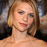 At the premiere of The Hours in 2002, Claire's honey-hued hair paired perfectly with her peachy lip color.