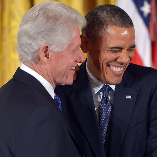 Barack Obama and Bill Clinton Joke on Twitter May 2015