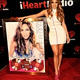J Lo snapped a photo with her platinum album.
