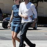 Kate Bosworth and Michael Polish enjoyed an afternoon together in LA.