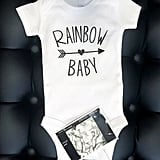 Rainbow and Heart Cloud Onesie