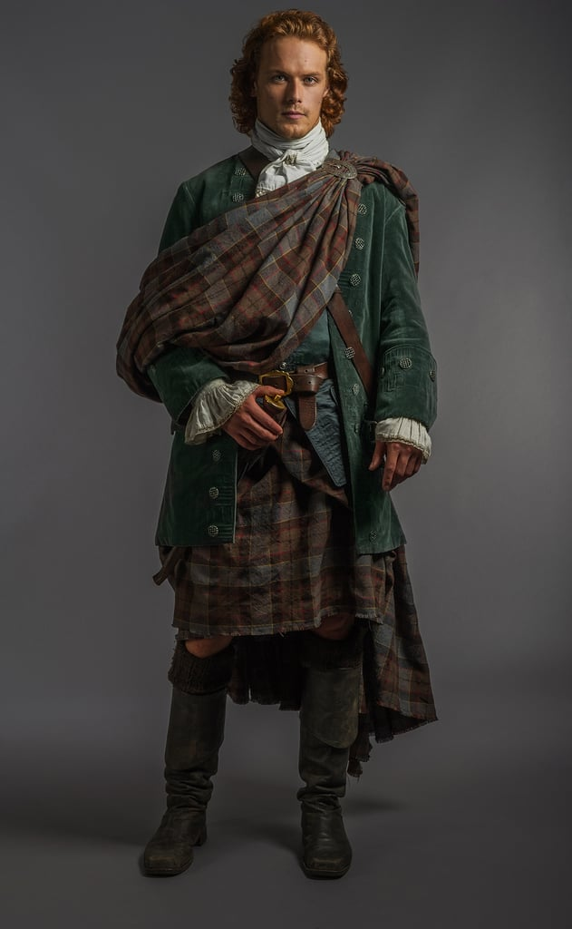 Here's a full-length look at Jamie's wedding-day attire.