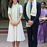 Kate Middleton's Emilia Wickstead Dress in Mumbai April