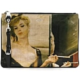 Shop Similar: Moschino Work of Art Print Clutch