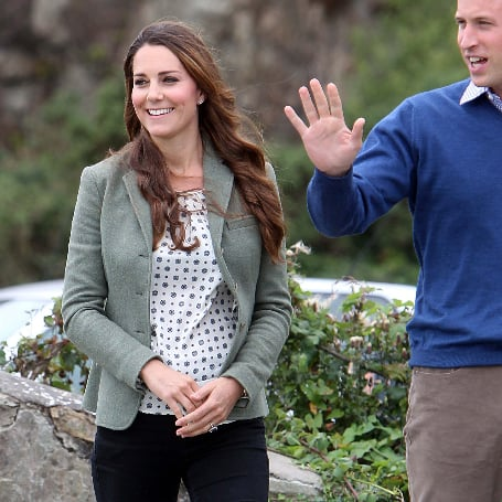 The Duchess of Cambridge Goes Country-Chic at First Postbaby Appearance