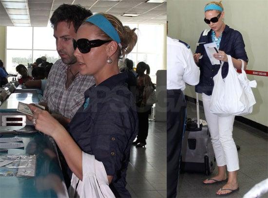Photos of Katherine Heigl in the Bahamas