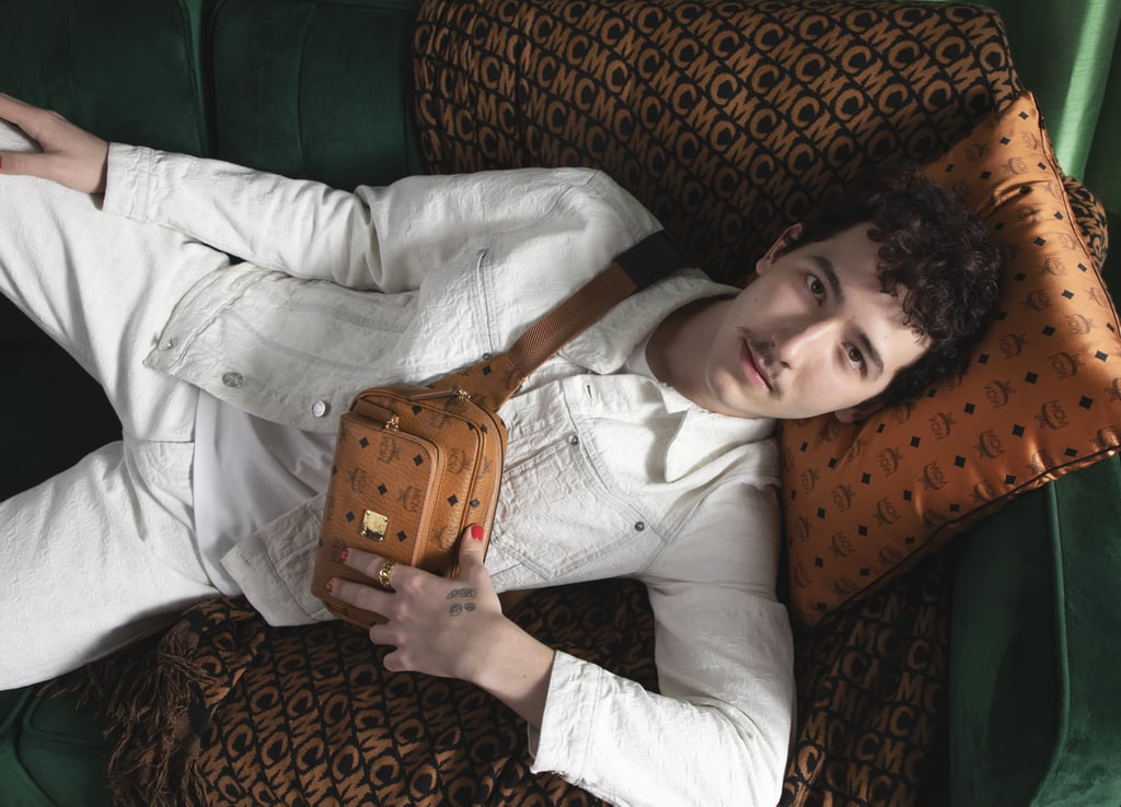 Frankie Jonas Stars in His First Fashion Campaign For MCM