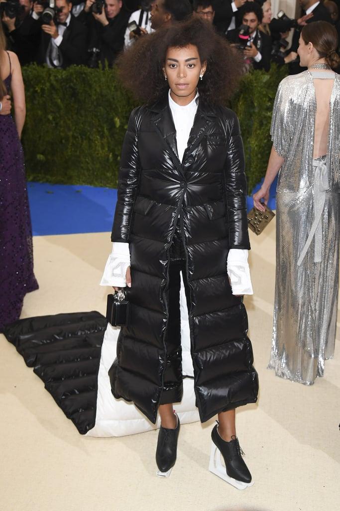 Solange Knowles Wearing Thom Browne at the Met Gala 2017