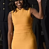 So What Color Is Michelle Obama's Dress?