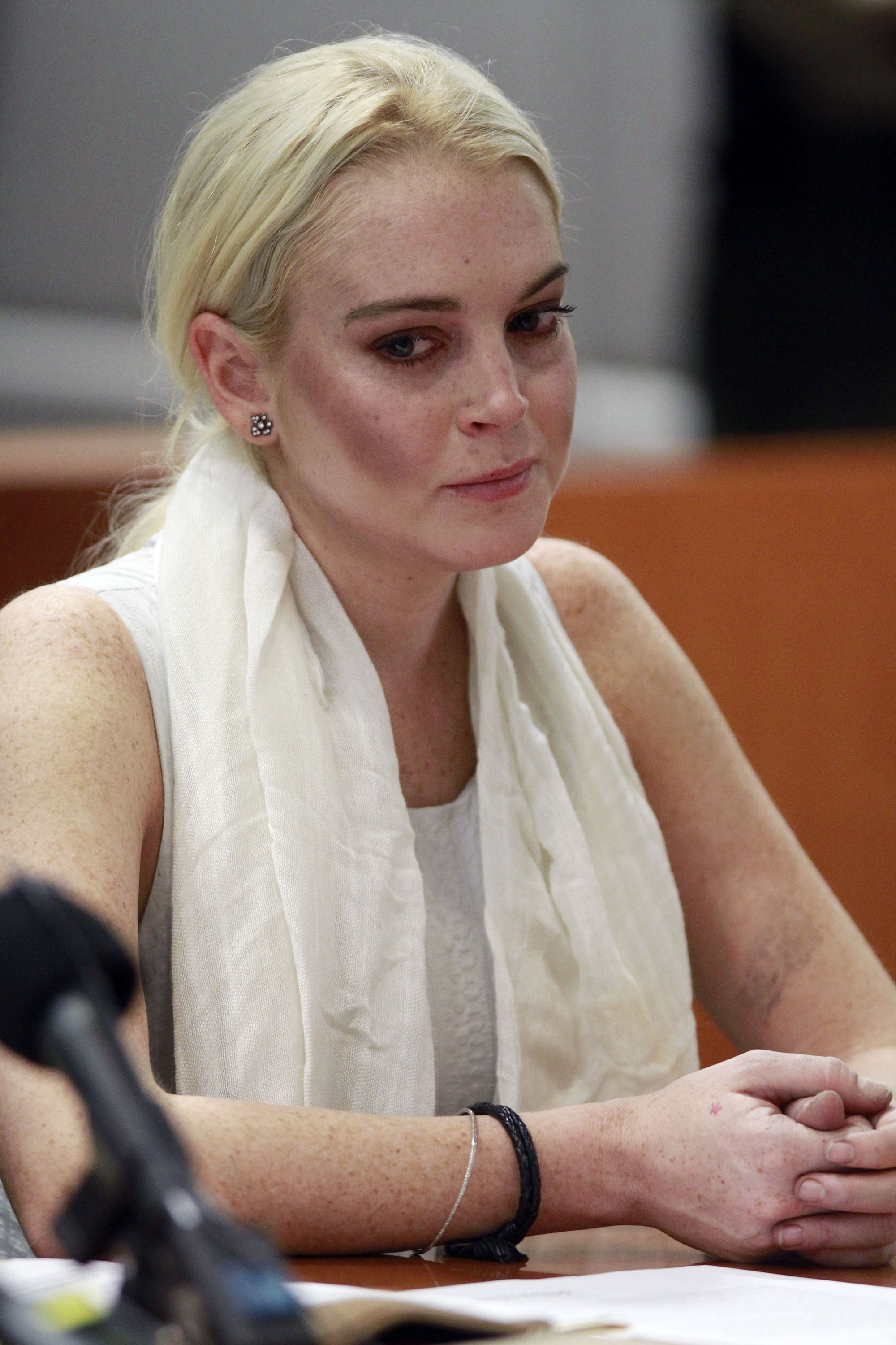 Busted Lindsay Lohan - The Hollywood Gossip